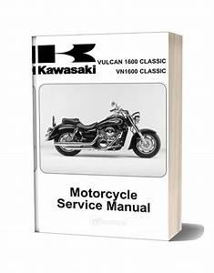 Kawasaki Vn1600 A1 U0026a2 2003 Service Manual