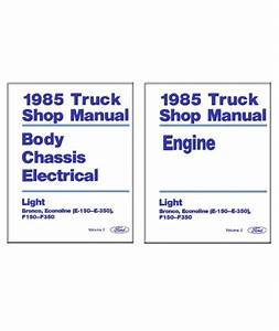 1985 Ford F350 Ignition Wiring Diagram : 1985 ford f150 f350 light duty truck econoline body ~ A.2002-acura-tl-radio.info Haus und Dekorationen