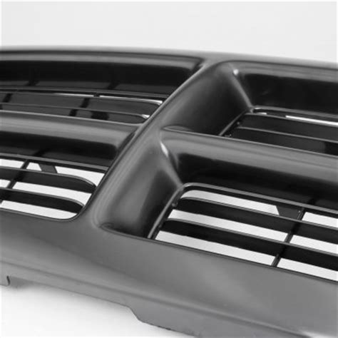 dodge dakota   black oem style grille