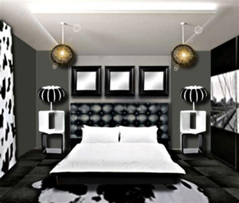 chambre baroque noir et blanc chambre au masculin floriane lemarié