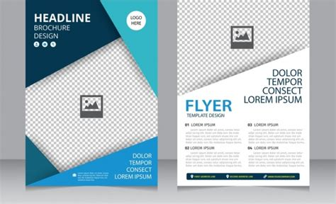 Background Brochure Templates by Brochure Background Design Free Vector 44 093