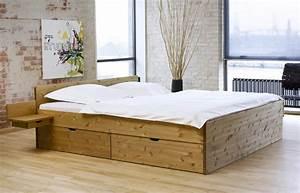 Holzbett Mit Schubladen 180x200 : schubkasten doppelbett aus buche oder kiefer bett norwegen ~ Bigdaddyawards.com Haus und Dekorationen