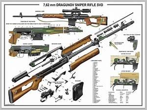 Poster 18 U0026quot X24 U0026quot  Russian Dragunov Sniper Rifle Svd Manual