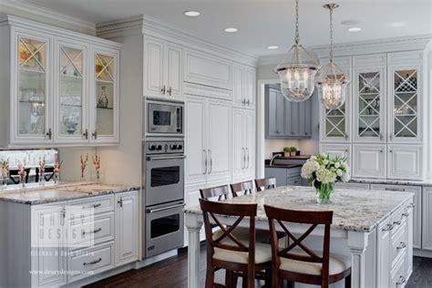 houzz features traditional white kitchen  drury design