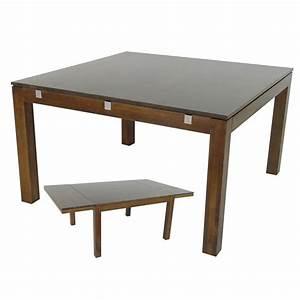 Table Carrée Rallonge : table carr e rallonge montr al meuble salle manger ~ Teatrodelosmanantiales.com Idées de Décoration