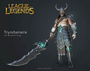 Tryndamere the Barbarian King - Small by Peschiera on ...
