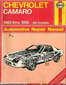 Used Haynes Chevrolet Camaro 1982