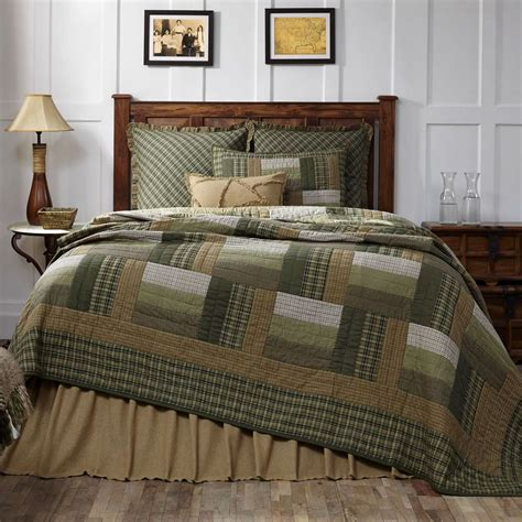 new country primitive montgomery green brown log