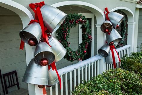 how to fix christmas lawn ornaments ken wingard shows us how to make diy bells out of plastic planters to decorate the