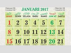 Download Kalender Islami 2017 Kalender Vector