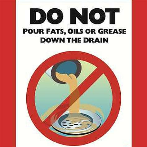 Can You Dump Grease Down The Drain?