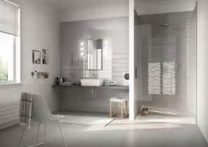 Bathroom Gray Tile Ideas by Colourline Ceramica Lucida Rivestimento Bagno Marazzi