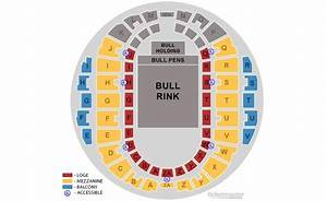 Big Super Arena Seating Chart Professional Bull Riders Hampton Coliseum