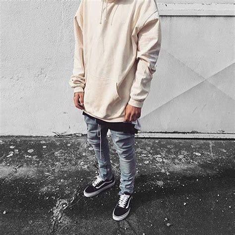 Vans Old Skool White Outfit Men