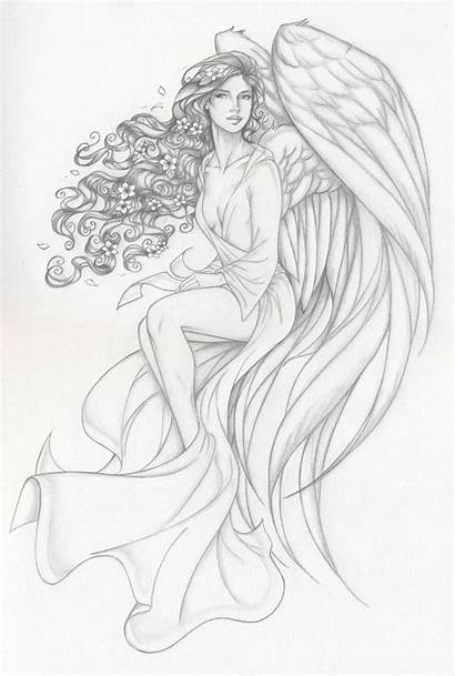 Underworld Anyae Lords Coloring Pages Olivia Angel