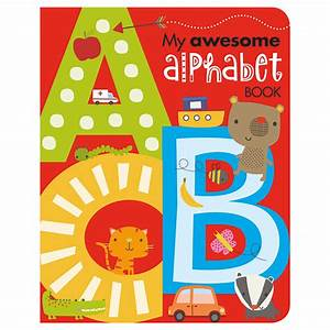 my awesome alphabet book make believe ideas uk With alphabet letter books