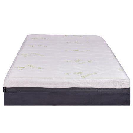 king size mattress cover walmart costway california king size 10 memory foam bamboo fiber