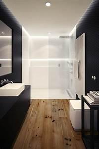 Salle De Bain En L : la salle de bain avec douche italienne 53 photos ~ Melissatoandfro.com Idées de Décoration