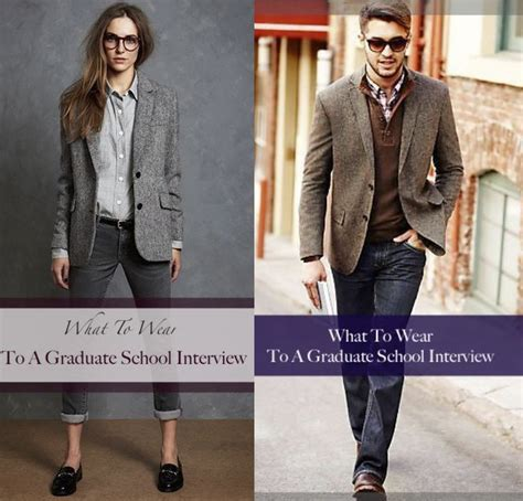 Howtogetintograduateschool.com Graduate Admission interview outfits fashion College fashion ...