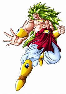 BROLY Legendary Super Saiyan 3 LSSJ3 by Goku-Kakarot on ...