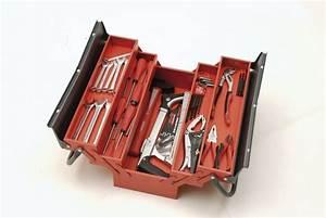 Caisse A Outils Metal : boite outils mob outillage boite outils 5 cases caisse outils garnie en m tal outiland ~ Dode.kayakingforconservation.com Idées de Décoration