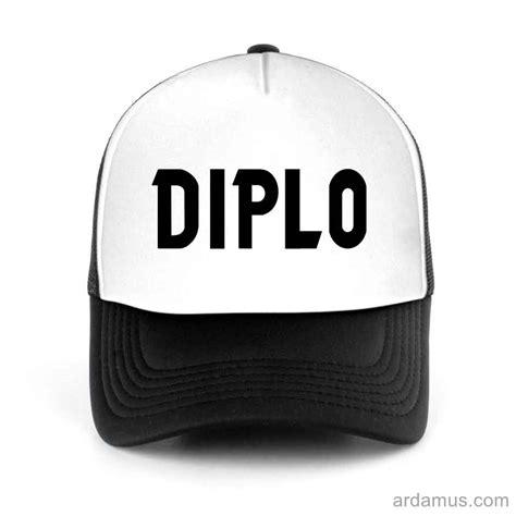 diplo logo trucker hat ardamuscom dj  shirts merch