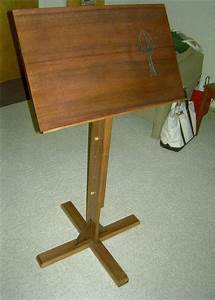 Woodworking Music Stand Plans : Creative Gray Woodworking