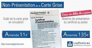 Carte Grise Non Faite Par Le Vendeur : non pr sentation de carte grise legipermis ~ Gottalentnigeria.com Avis de Voitures