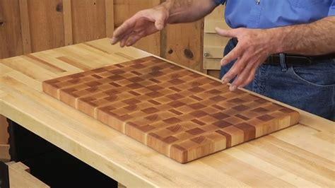 build   cutting board    plans