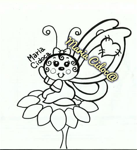 Borboletinha na flor (com imagens) Borboleta Mariazinha