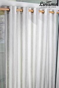 Leinen Gardinen Weiß : leinen gardine weiss natur gestreift 145x235cm m05c33215 ~ Whattoseeinmadrid.com Haus und Dekorationen