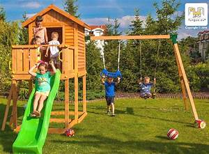 Haus Mit Rutsche : spielturm mit rutsche blau haus und schaukel fungoo myhouse move spielturm aus holz bis 450 kg ~ Orissabook.com Haus und Dekorationen
