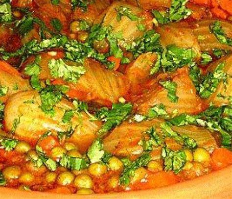 de cuisine arabe tajine de fenouils et petits pois recette de cuisine