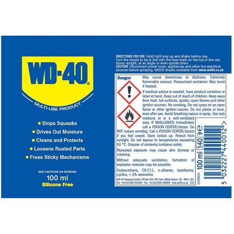 wd  lubricant ml diy lubricant aerosol