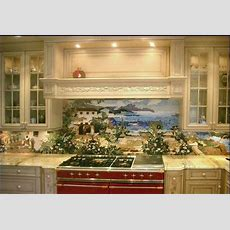 Custom Kitchen Mural Backsplash Mosaics By Vita Nova