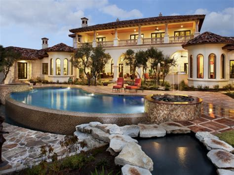 Spanish Mediterranean Style Homes Spanish Style Homes With