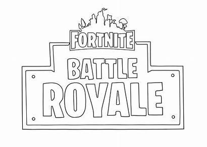 Fortnite Coloring Pages Royale Battle Season