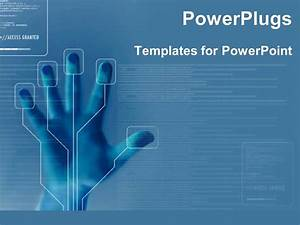 PowerPoint Template: technology for finger printing ...