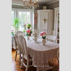 Shabby Chic Dining Room Ideas Awesome Tables, Chairs And