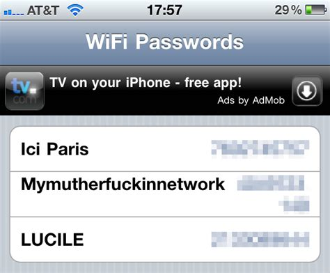 how to see wifi password on iphone this iphone app makes sure you never forget a wifi