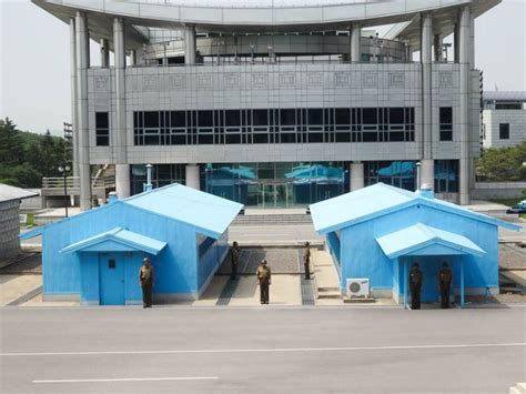demilitarized zone dmz   north korean side