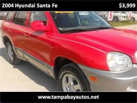 New Richey Hyundai Used Cars by 2004 Hyundai Santa Fe Used Cars New Richey Fl
