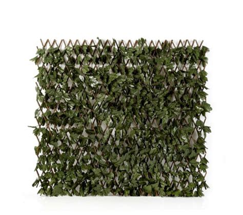 compass home expandable faux ivy privacy fence with lights compass home garden expandable faux ivy privacy trellis