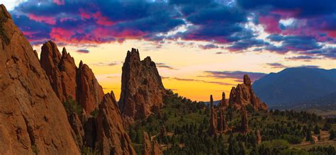 Garden Of The Gods Best Time To Visit by 10 Times Colorado Proved It Has The Best Sunsets Visit