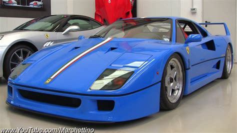 An incredibly rare and truly gorgeous ferrari f40, finished in a custom choice of blue for its new owner and fitted with a tubi exhaust system.we take a. Ferrari F40 Blue wallpaper | 1920x1080 | #9372