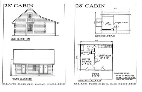 cabin blueprints small log cabin homes floor plans small log home with loft