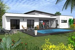 Plan Maison Contemporaine Toit Plat : plan de maison contemporaine etna ~ Nature-et-papiers.com Idées de Décoration