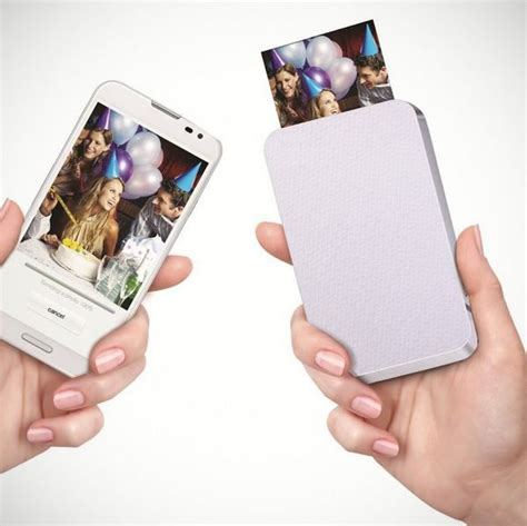 print photos from your phone zink portable zero ink printer ippinka