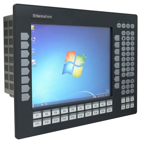 Ipc1550kpt Industrial Panel Pc With Keypad & Touchscreen