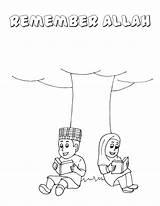 Coloring Islamic Pages Muslim Calligraphy Quran Islam Printable Getcolorings Noon Publications Getdrawings Ramadan Arabic Colour Rama Colorings Parents sketch template